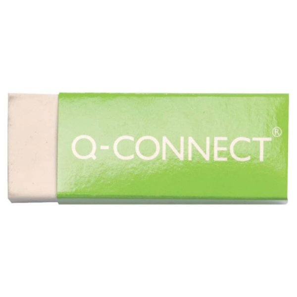 Gomma Q-Connect 60x21x11 mm bianca  KF00236