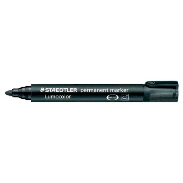 Marcatore permanente punta tonda Staedtler Lumocolor permanent marker 352 2 mm nero - 352-9