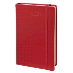 Agenda giornaliera 2022 Quo Vadis Daily 17 Prestige Habana 12x17 cm rosso 37600222MQ