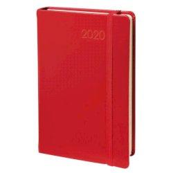 Agenda giornaliera 2022 Quo Vadis Daily Pocket Prestige - Habana 8,8x13 cm rosso 61700422MQ