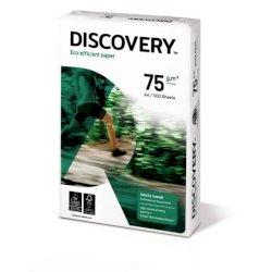 Carta per fotocopie A4 Discovery 75 g/m²  Risma da 500 fogli - NDI0750212