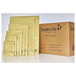 Buste imbottite Mail Lite® Gold A 11x16 cm avana conf. 100 pezzi - 103027400
