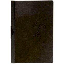 Cartellina con clip Q-Connect PVC 22x30,7 cm nero KF00459