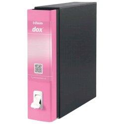Registratore a leva DOX1 Commerciale S. Francisco 28,5x31,5 cm - dorso 8 cm rosa D15119