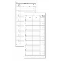 Registro corrispondenza arrivo/partenza data ufficio 96 pg - 31x24,5 cm DU138000000