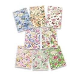 Quaderno a righe 42 fogli PIGNA Maxi Nature Flowers A4 1R assortiti 02298851R