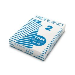 Carta per fotocopie A4 Fabriano COPY 2 80 g/m² Risma da 500 fogli - 41021297